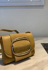 SEE BY CHLOÉ Hopper mini cross-body bag shoulder handbag yellow