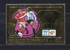S5575) Centrafricaine Rfa 1981 MNH Wc Football '82 - CM Fútbol 1v Gold