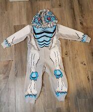 BROTHERS  Sleepwear Boys Size 5 Long Warm Zip Up Yeti Monster
