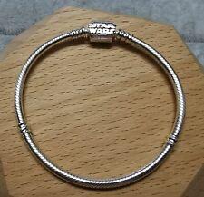 Pandora Moments 599254C00 Star Wars Snake Chain Clasp Bracelet 18cm S925 ALE