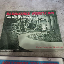 Bloodtree Rebellion GDW box set game rpg ULTRA RARE UNPUNCHED
