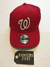 more photos 298a1 0abdd New Era 2018 Washington Nationals Batting Practice 39Thirty Hat Cap Size M-L