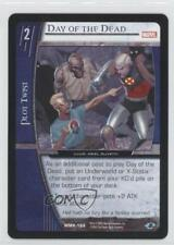 2005 Vs System Marvel Knights Booster Pack Base Mmk-186 Day of the Dead Card 3v2