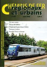 CHEMINS de FER RÉGIONAUX et URBAINS - N° 291 (août 2002) (FACS - CFRU) (Train)