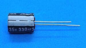 Elko, radial, 330µF (330uF) / 35V / 85°C - Jamicon SK - Menge nach Wunsch
