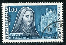 STAMP / TIMBRE FRANCE OBLITERE N° 1737 SAINTE THERESE DE L'ENFANT JESUS