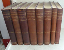 Vintage EIGHT Book Set Calcedonia History Topography North Britain Scotland