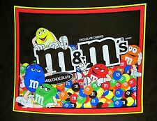 1 M & M Candy  Wallhanging/Lap Quilt Panel Fabric