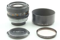 【 Near MINT+++ w/ HOOD 】 Canon FD 55mm f/1.2 S.S.C MF Lens FD Mount from JAPAN
