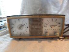 Vintage Motorola Clock Radio Model 62C1