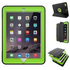 Hybrid Outdoor Skin Case Cover Green for New Apple iPad 9.7 2017 Pouch Case