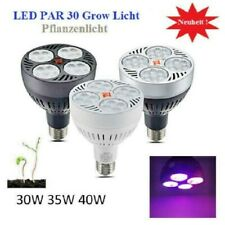 40W LED Grow Pflanzen Leuchte Lampe Licht Blüte 3200K E27 Full Spectrum Light