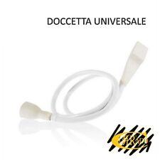 Doccetta in Plastica con Attacco Universale per lavandino e lavatesta