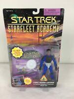 Star Trek Geordi LaForge Action Figure StarFleet Academy Cadet Playmates 1996