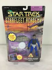 Star Trek StarFleet Academy Cadet Geordi LaForge Action Figure Playmates 1996