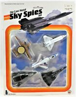 1984 Intex Recreation Corp. Die Cast Sky Spies Set Military Jets New Sealed