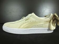 PUMA Suede Bow Varsity Sneaker Shoes Women's 367732-03 Sz US 6 [A7]