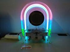Ancienne RADIO DAPY Neon lumineuse plexiglas - RARE - A révisé