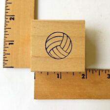 Northwoods Rubber Stamps - Volleyball -  NEW