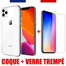 COQUE ULTRA-FINE TRANSPARENTE IPHONE 11 PRO XR XS Max X 8 7 6S 6 SE 5S 5 4S 4