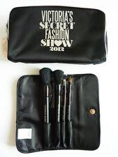 VICTORIA'S SECRET 2012 FASHION SHOW 4 PIECE MAKE UP BRUSH SET *BRAND NEW