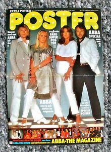 ABBA POSTER MAGAZIN SPECIAL SCHWEDEN 11/2/78 KOMPLETT UND GEKLAMMERT