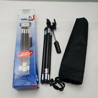 Velbon VTP-815 Adjustable 8 section Compact Tripod with carry case & boxed #269