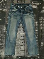 SMOG Herren Jeans W34 L32, Modell ROB, Straight Cut, Authentisch