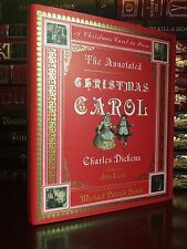 The Annotated Christmas Carol in Prose by C. Dickens New Illustrated Hardcover