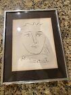 Original Pablo Picasso Pour Robie Lithograph w/ Collectors Guild COA 1960s Roby
