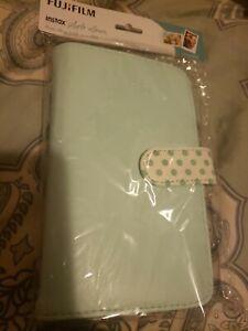 Fujifilm - instax Wallet Photo Album - Ice Blue with Polka Dots New