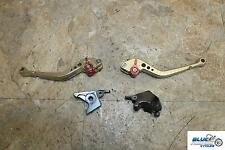 00-03 SUZUKI GSXR 750 ADJUSTABLE BRAKE CLUTCH LEVER HANDLE KIT LEFT RIGHT