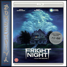 FRIGHT NIGHT (1985) DUAL FORMAT BLURAY & DVD SPECIAL EDITION  **BRAND NEW***