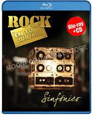 Rock En Tu Idioma Sinfonico Blu-ray Caifanes Fobia Miguel Mateos Rostros Ocultos