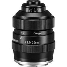 Zhongyi Mitakon 20mm f/2 4.5X Super Macro Lens for Sony E mount A7 A6500 A6300