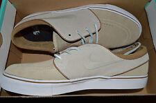 New Mens Nike Zoom Stefan Janoski OG Shoes 833603-222 sz 9.5 Reed Stone Tan