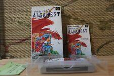 Alcahest w/box manual Nintendo Super Famicom SFC Very Good Condition!