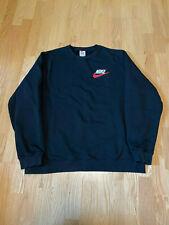 Nike Supreme FW18 Black Crewneck Sweatshirt size XL