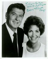 Authentic RONALD & NANCY REAGAN Signed Photo