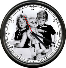 Buffy Jody Mrs Beasley Doll Family Affair TV Show Retro Vintage Sign Wall Clock