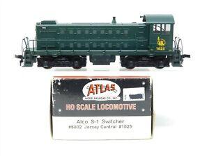 HO Scale Atlas 8802 CNJ Jersey Central S1 Diesel Locomotive #1025 Does Not Run