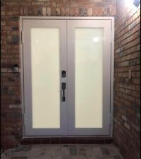 HURRICANE IMPACT DOUBLE FRENCH DOORS 72X80. Other measurements in stock.