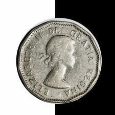 1956 Canadian 5 Cents