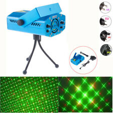 1X Mini Stage Laser Projector R&G DJ Disco Club Xmas Party Lighting Show Lights