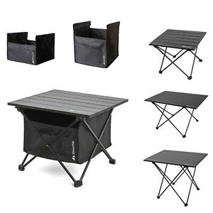 Mini Outdoor Folding Aluminum Table Lightweight Camping BBQ Picnic Desk with Bag