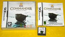 COMMANDER EUROPE AT WAR Nintendo DS Versione Ufficiale Italiana ••••• USATO