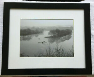 "Vintage Photograph Signed & Titled ""Moon Bay"" Framed, Matted & Signed"