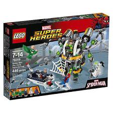 76059 DOC OCK'S TENTACLE TRAP lego NEW legos set SPIDER-MAN Vulture White Tiger