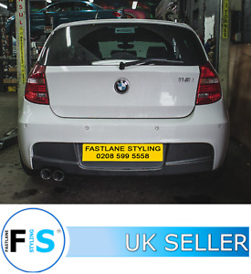 BMW 116i E87 Cat Back Stainless Steel Exhaust System Supply & Fitted