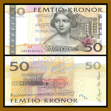 UNC SWEDEN 50 Kronor 2004 Pick 64a